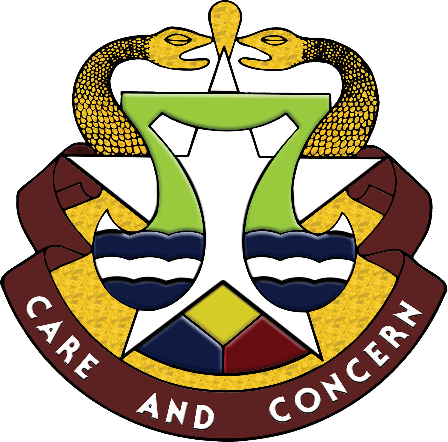 Carl R. Darnall Army Medical Center Crest